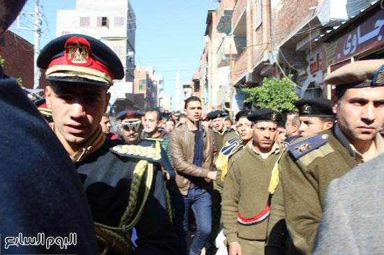 جنازة عسكرية وشعبية بالدقهلية (1)