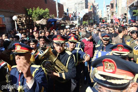 جنازة عسكرية وشعبية بالدقهلية (2)