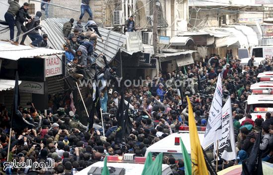 جثامين 7 قتلى من حماس فى غزة (1)