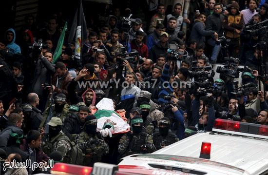 جثامين 7 قتلى من حماس فى غزة (2)