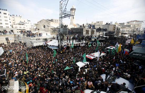 جثامين 7 قتلى من حماس فى غزة (3)