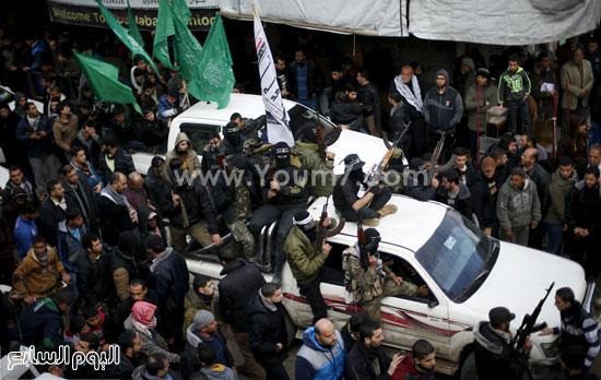 جثامين 7 قتلى من حماس فى غزة (5)