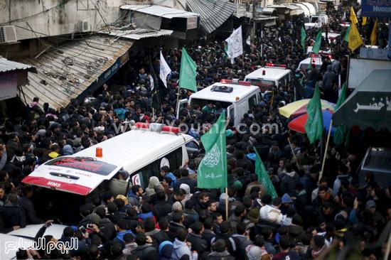 جثامين 7 قتلى من حماس فى غزة (6)