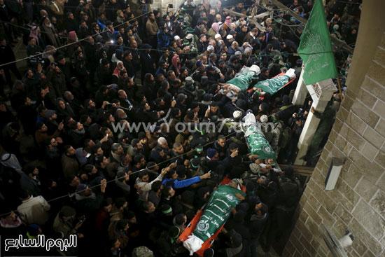 جثامين 7 قتلى من حماس فى غزة (7)