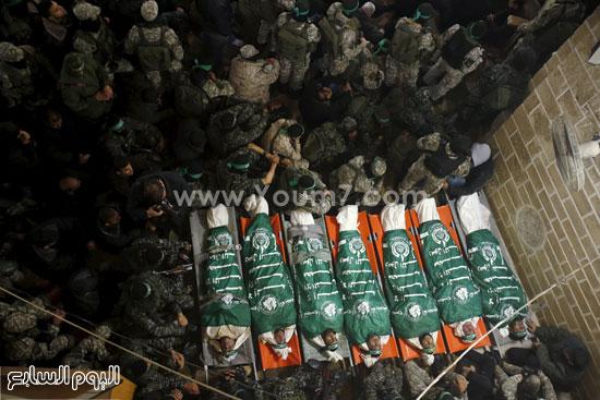 جثامين 7 قتلى من حماس فى غزة (8)