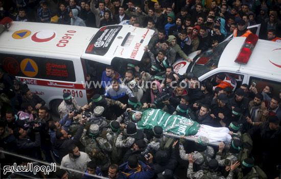 جثامين 7 قتلى من حماس فى غزة (9)