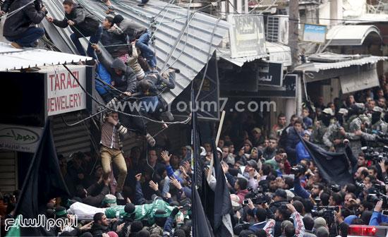 جثامين 7 قتلى من حماس فى غزة (10)