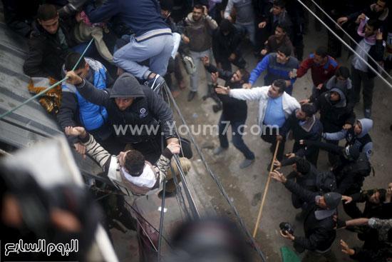 جثامين 7 قتلى من حماس فى غزة (11)