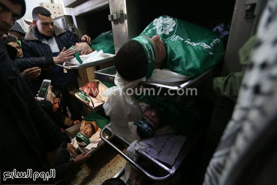 جثامين 7 قتلى من حماس فى غزة (12)