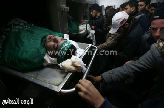 جثامين 7 قتلى من حماس فى غزة (14)