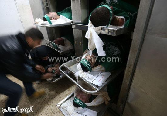 جثامين 7 قتلى من حماس فى غزة (15)