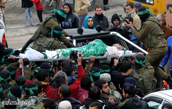 جثامين 7 قتلى من حماس فى غزة (19)