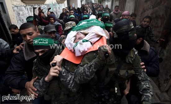 جثامين 7 قتلى من حماس فى غزة (20)