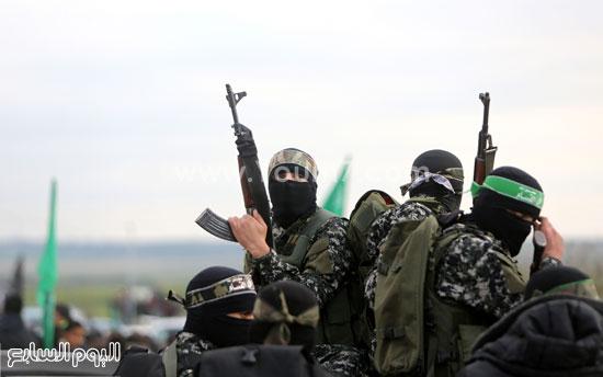 جثامين 7 قتلى من حماس فى غزة (21)