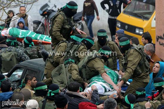 جثامين 7 قتلى من حماس فى غزة (22)