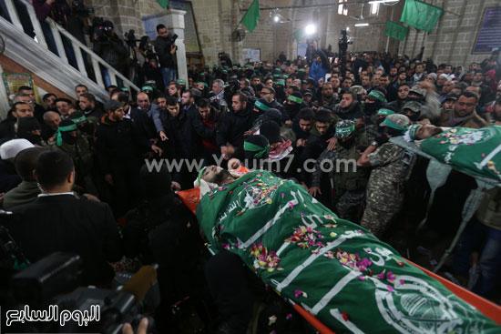 جثامين 7 قتلى من حماس فى غزة (23)