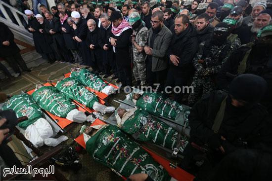جثامين 7 قتلى من حماس فى غزة (24)