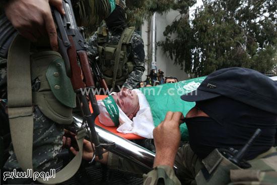 جثامين 7 قتلى من حماس فى غزة (29)