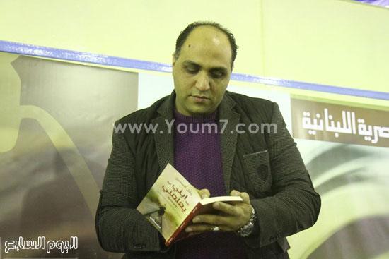 وائل السمرى ابنى يعلمنى اخبار الثقافة الثقافة (15)