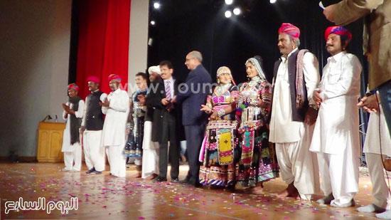 فرقة كالبيليا الهندية تقدم عروضها على مسرح  قصر  ثقافة الإسماعيلية (1)