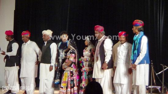 فرقة كالبيليا الهندية تقدم عروضها على مسرح  قصر  ثقافة الإسماعيلية (2)