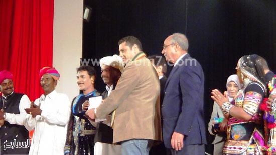 فرقة كالبيليا الهندية تقدم عروضها على مسرح  قصر  ثقافة الإسماعيلية (4)