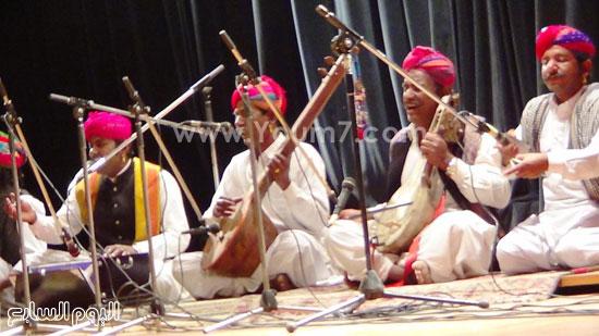 فرقة كالبيليا الهندية تقدم عروضها على مسرح  قصر  ثقافة الإسماعيلية (6)