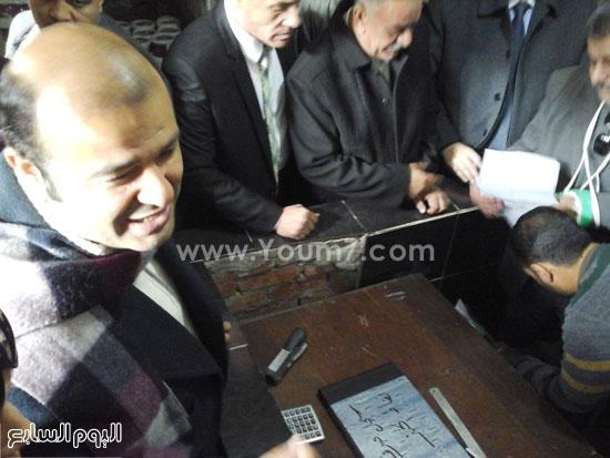 الدكتور خالد حنفى وزير التموين  (1)