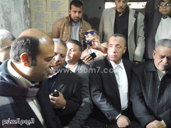 الدكتور خالد حنفى وزير التموين  (2)