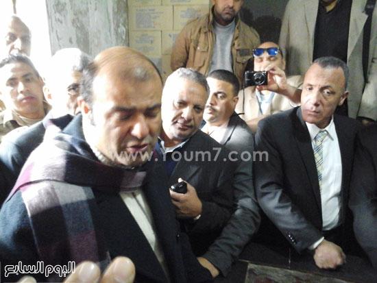 الدكتور خالد حنفى وزير التموين  (3)