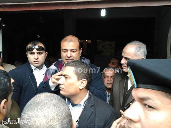 الدكتور خالد حنفى وزير التموين  (4)