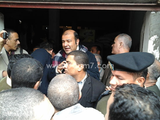 الدكتور خالد حنفى وزير التموين  (5)