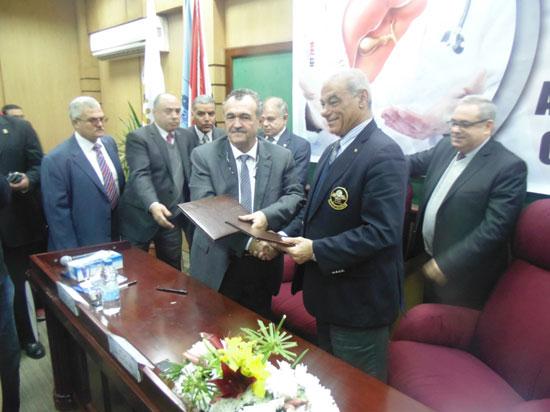 برتوكول تعاون مع منظمة الصحة العالمية ونادى روتارى، (3)
