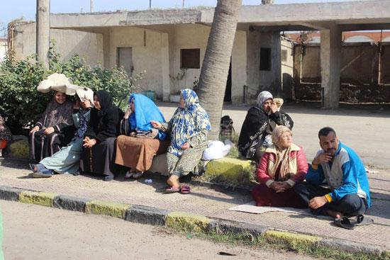 إضراب عمال سجاد دمنهور (1)