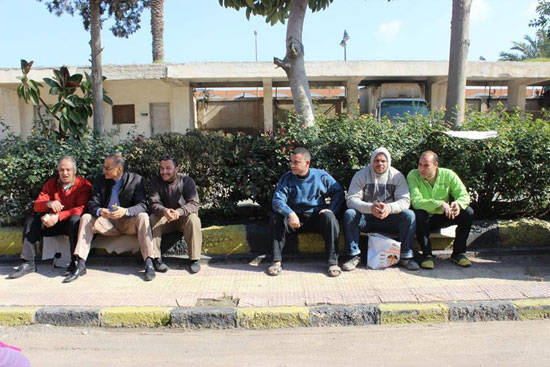 إضراب عمال سجاد دمنهور (2)