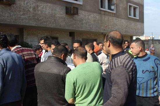 إضراب عمال سجاد دمنهور (4)
