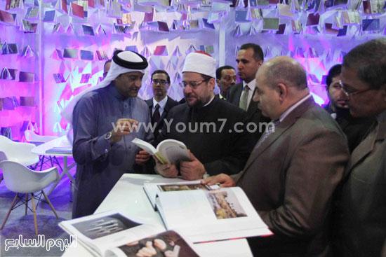 1 (1)محمد مختار جمعة معرض الكتاب وزير الاوقاف مجانية كتب الوسطية لنشر الوسطية الوسطية والاعتدال