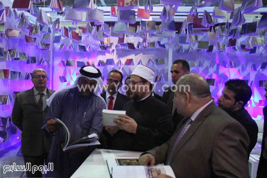 1 (2)محمد مختار جمعة معرض الكتاب وزير الاوقاف مجانية كتب الوسطية لنشر الوسطية الوسطية والاعتدال