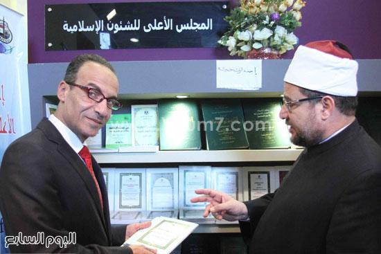 1 (9)محمد مختار جمعة معرض الكتاب وزير الاوقاف مجانية كتب الوسطية لنشر الوسطية الوسطية والاعتدال