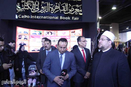 1 (27)محمد مختار جمعة معرض الكتاب وزير الاوقاف مجانية كتب الوسطية لنشر الوسطية الوسطية والاعتدال