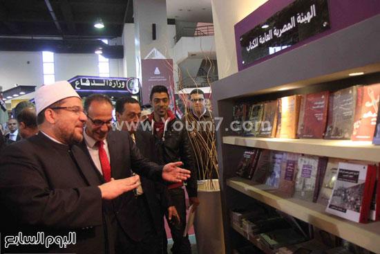 1 (31)محمد مختار جمعة معرض الكتاب وزير الاوقاف مجانية كتب الوسطية لنشر الوسطية الوسطية والاعتدال