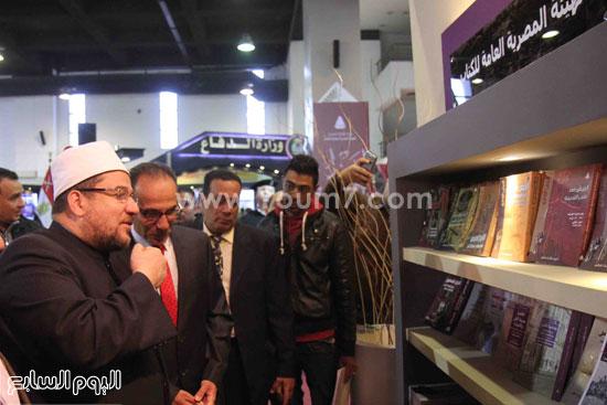 1 (32)محمد مختار جمعة معرض الكتاب وزير الاوقاف مجانية كتب الوسطية لنشر الوسطية الوسطية والاعتدال
