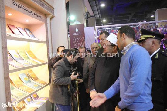 1 (38)محمد مختار جمعة معرض الكتاب وزير الاوقاف مجانية كتب الوسطية لنشر الوسطية الوسطية والاعتدال