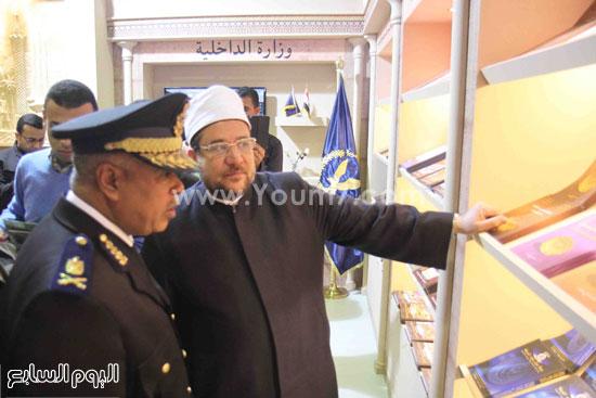 1 (39)محمد مختار جمعة معرض الكتاب وزير الاوقاف مجانية كتب الوسطية لنشر الوسطية الوسطية والاعتدال