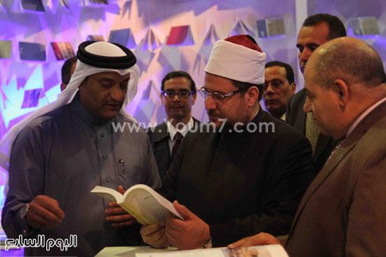 1 (43)محمد مختار جمعة معرض الكتاب وزير الاوقاف مجانية كتب الوسطية لنشر الوسطية الوسطية والاعتدال