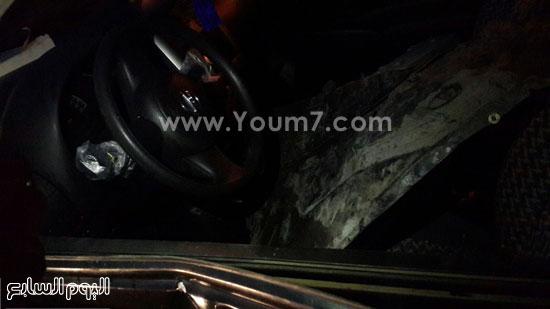 الطريق الدائرى، تصادم سيارات، منطقة اكتوبر (5)