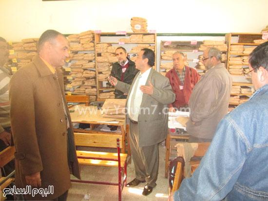 أعمال التصحيح باللجان للصف الثالث الإعدادى فى كفر الشيخ (1)