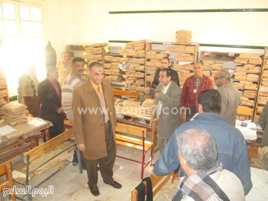 أعمال التصحيح باللجان للصف الثالث الإعدادى فى كفر الشيخ (2)