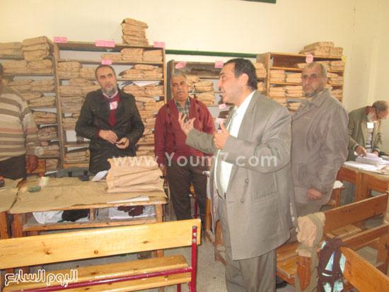 أعمال التصحيح باللجان للصف الثالث الإعدادى فى كفر الشيخ (6)