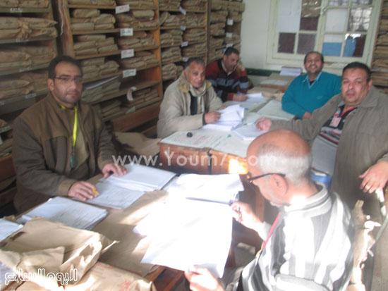 أعمال التصحيح باللجان للصف الثالث الإعدادى فى كفر الشيخ (7)